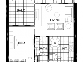 Rhapsody One Bedroom Type c 02