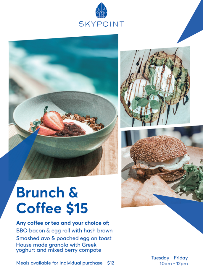 SkyPoint Coffee and brunch image